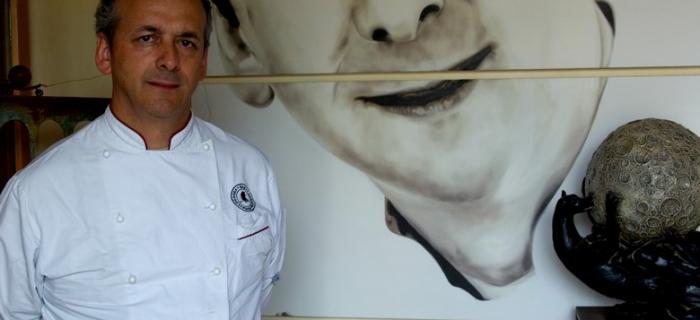 Renzo Dal Farra, chef del ristorante Locanda San Lorenzo